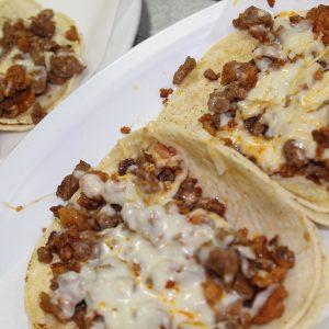 Tacos de Chorizo
